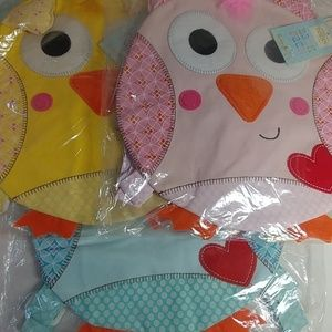 Other - 3 Cupcakes & Cartwheels Happi Owl Toddler Backpack