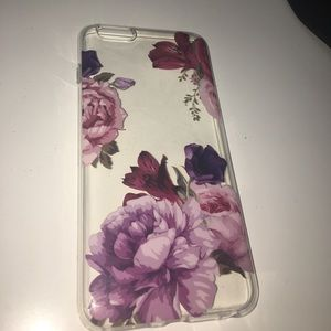 Accessories - iPhone 6 Plus Floral TPU Soft Protective Case