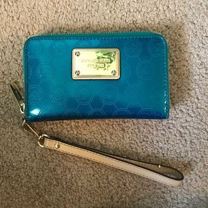 00c623c2474dd0 Michael Kors Bags - Electric Blue Michael Kors Purse and Wallet ...