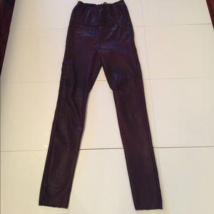 Isabel Marant leather leggings
