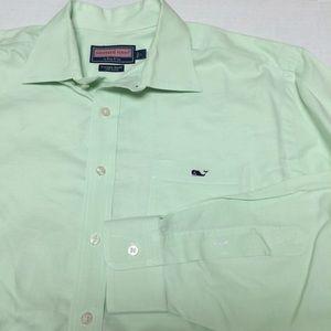 711f005fc672 Vineyard Vines Shirts - Vineyard vines whale logo green button shirt