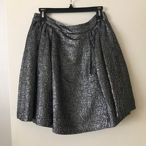 Kate spade metallic aimee skirt