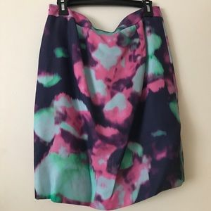 kate spade water color pencil skirt