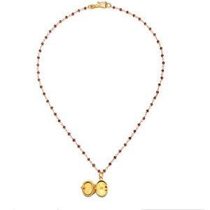Satya Jewelry Jewelry - Begin Anew Gold Locket Necklace