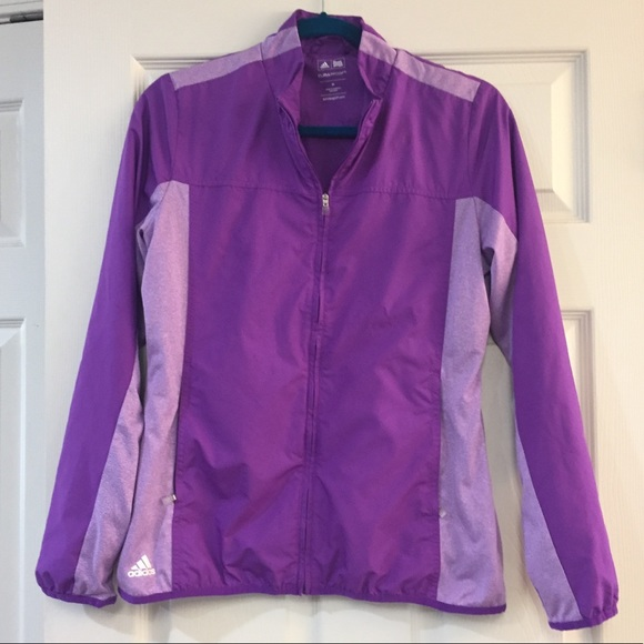 adidas Jackets & Blazers - Purple Adidas Light Windbreaker