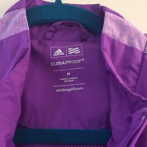 adidas Jackets & Coats - Purple Adidas Light Windbreaker