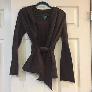 Lucky Brand Sweaters - Dark Brown Lucky Brand Cover Up
