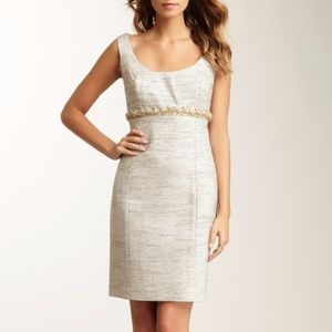 Trina Turk Metallic Sheath Dress
