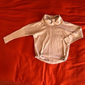 Sweaters - Pink/grey lightweight sweater size small