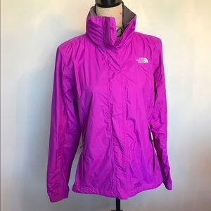 North face rain jacket w/hood or tuck it in