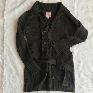 Romeo & Juliet Couture Button Down Sweater Medium