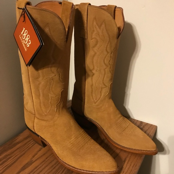 2ec194b0abe Lucchese 1883 Roughout Suede Boots! NWT