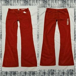 Saltworks NYC Corduroy Avenue A Flare Jeans Pants