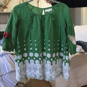 Odd Molly embroidered top