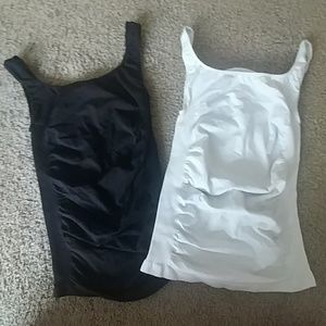 Two fitted tanks