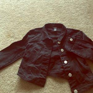 Rue 21 size medium black crop jacket