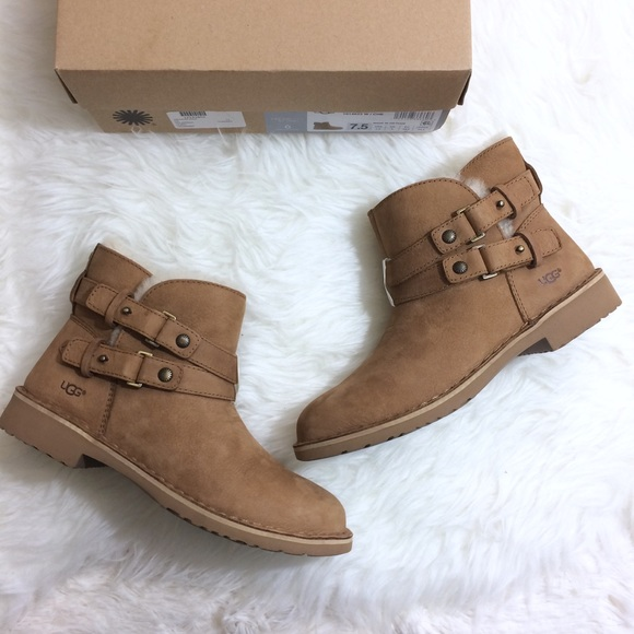 a81445a21c0 UGG Aliso 7.5 Chestnut Tan Ugg Short Boots New NWT