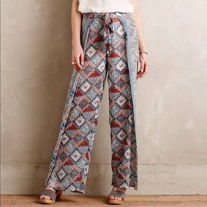 Anthropolgie Elevenses Wide Leg Pants