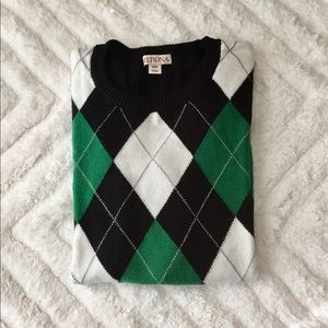 EUC preppy sweater S