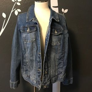 Layne Bryant jean jacket