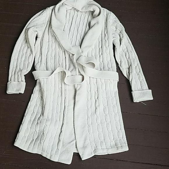 36e00bc852 arlotta Other - Cable knit sweater robe