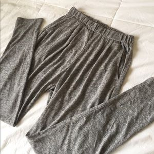 NWOT H&M high waisted joggers