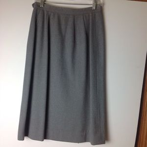 LUBA Vintage Pure Wool Suit Skirt