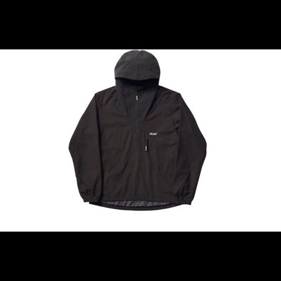 711cf1da56da Palace Outer Shell Smock Black