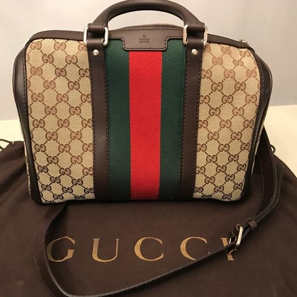 e6ab299f26c Gucci Handbags - Authentic Gucci Boston Satchel Speedy Bag ❤️