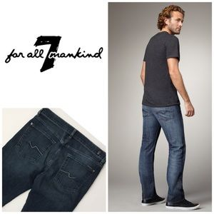 7 For All Mankind Men's Standard Straight Leg 👖