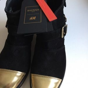 Balmain for H&M booties
