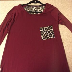 Boutique purchase tunic tee