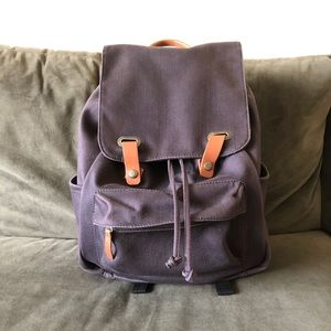 Everlane Navy Backpack