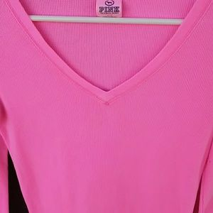 PINK Victoria's Secret Tops - VS PINK thermal shirt! Cute!