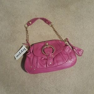 Hype Pink/light rasberry leather Purse