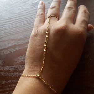 Gorjana Slave Ring Chain Bracelet
