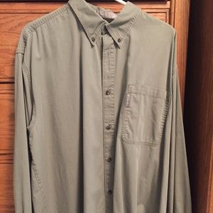 Columbia Green Button Up