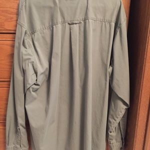 Columbia Shirts - Columbia Green Button Up