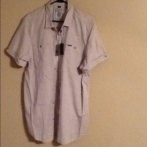 Mens xl short sleeve button down shirt