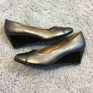 Silver Soft Style Wedges