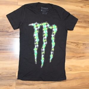 Tops - Monster Energy T-shirt Medium Youth