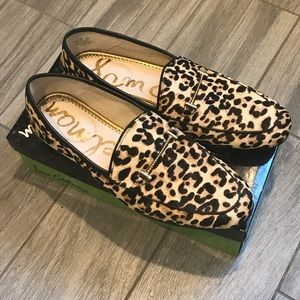 Sam Edelman Leopard Print Shoes - 10