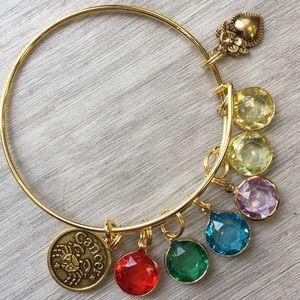 Jewelry - @cwilson4463 custom-made zodiac birthstone bangle