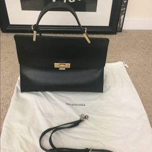 Balenciaga Le Dix M cartable black bag