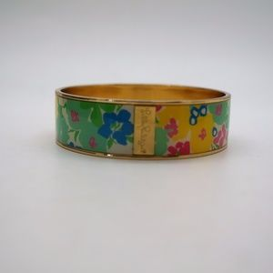 Lilly Pulitzer Floral Bangle Bracelet