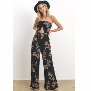 b402b6aee5e3 NEW Floral Printed Off Shoulder Jumpsuit