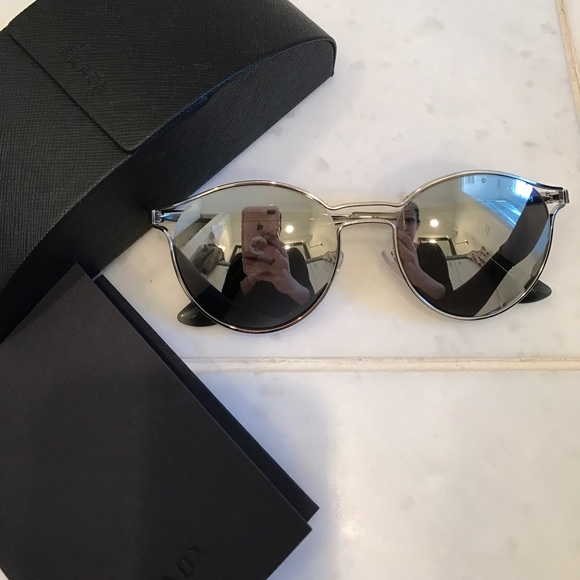 482856a66b6 Prada Reflective Mirror Sunglasses. M 5a04bdef4225be6b4c045c5f. Other  Accessories ...