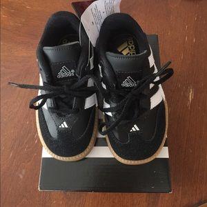 adidas Shoes - Adidas Samba Millenium Soccer Shoe Black Sz 7Kids 0105dc6fd