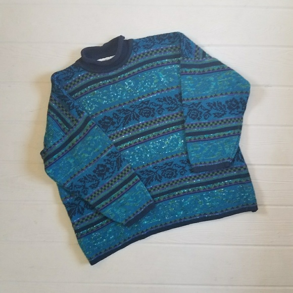 Vintage 80s Oversized Sweater