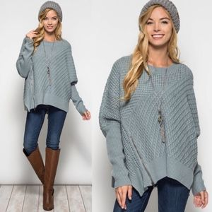EMIKO long sleeve oversize sweater